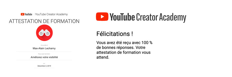 certification youtube mr lecharny